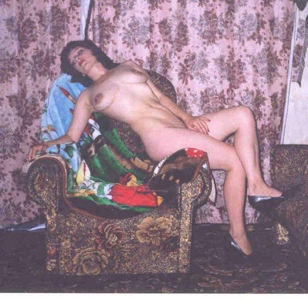 Коллекция снимков советских девушек без белья