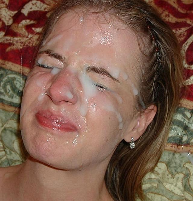 Семяизвержение на лица 18-летних девок крупно